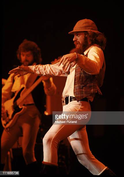 Tony WilliamsIan Anderson of Jethro Tull perform on stage at Madison Square Garden New York October 1978