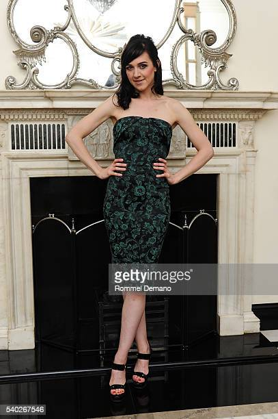 Tony Winner and Grammy Nominee Lena Hall pose at Cafe Carlyle on June 14 2016 in New York City