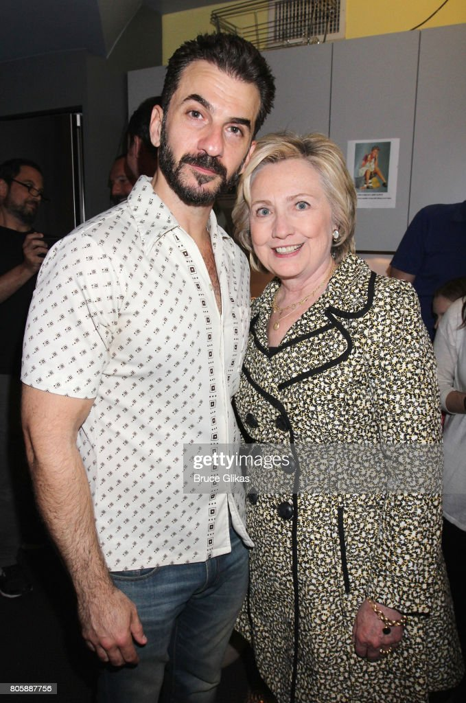 Celebrities Visit Broadway - July 2, 2017