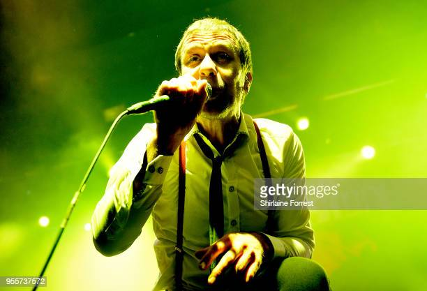 Tony Wright of Terrorvision performs live on stage at O2 Academy Manchester on May 4 2018 in Manchester England