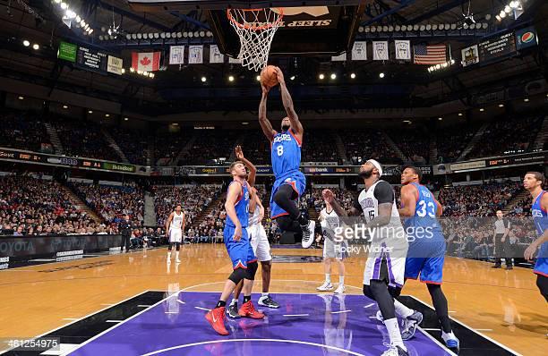 Tony Wroten of the Philadelphia 76ers goes up for the shot against the Sacramento Kings on January 2 2014 at Sleep Train Arena in Sacramento...