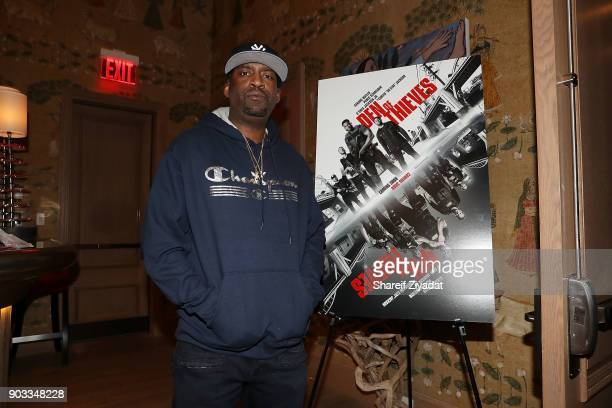 Tony Yayo attends 'Den Of Thieves' Private Screening at the Whitby Hotel on January 9 2018 in New York City