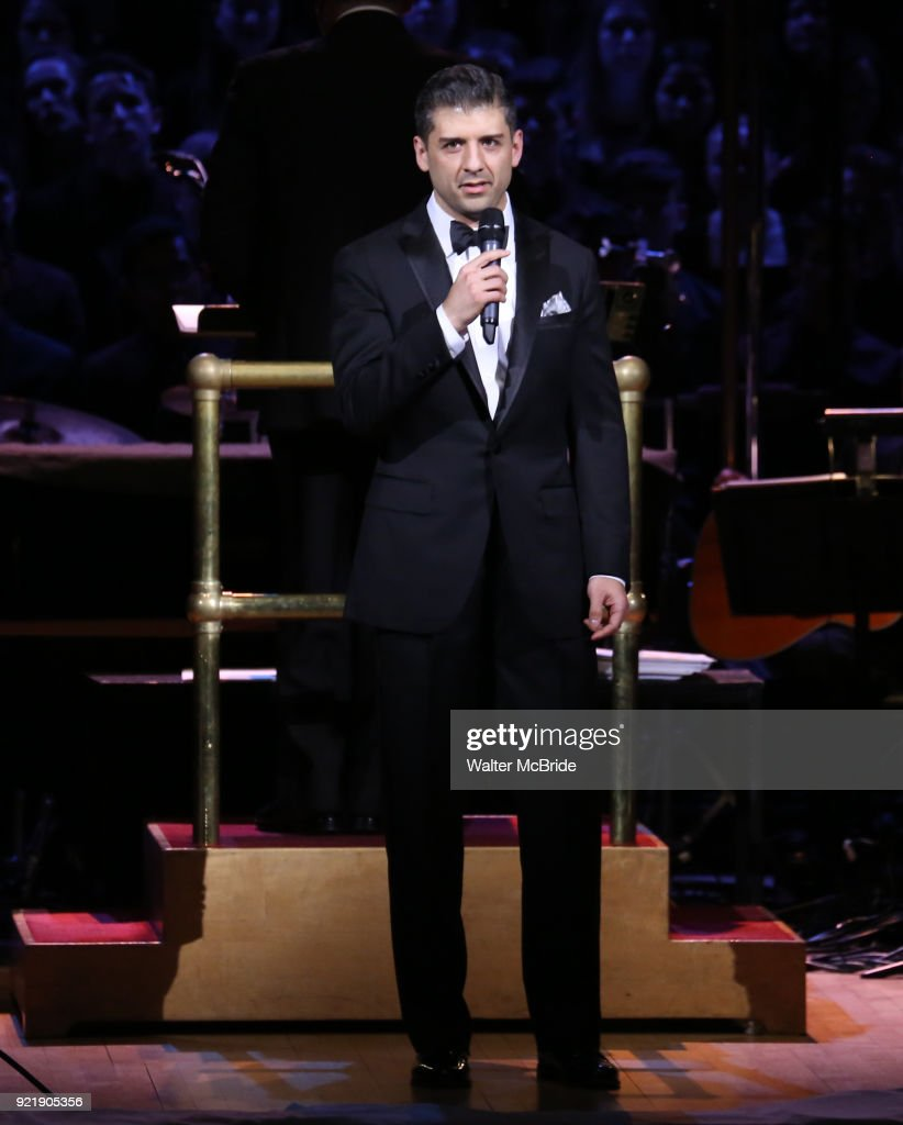 Tony Yazbeck during the Manhattan Concert Productions Broadway Classics in Concert at Carnegie Hall on February 20, 2018 at Carnegie Hall in New York City.