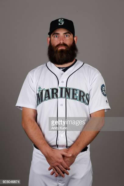 Tony Zych of the Seattle Mariners poses during Photo Day on Wednesday February 21 2018 at Peoria Sports Complex in Peoria Arizona