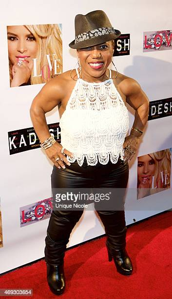 Tonya Banks attends the Private Listening Party For Kadesh aka Desiree Coleman Jackson Hosted By ESPN Sports Analyst Mark Jackson at HOME on April 10...