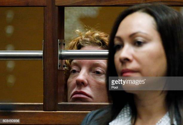 Tonya Couch mother of ``affluenza teen Ethan Couch appears in Los Angeles Superior court for an extradition hearing January 5 in Los Angeles...