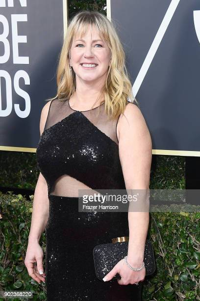 Tonya Harding attends The 75th Annual Golden Globe Awards at The Beverly Hilton Hotel on January 7 2018 in Beverly Hills California