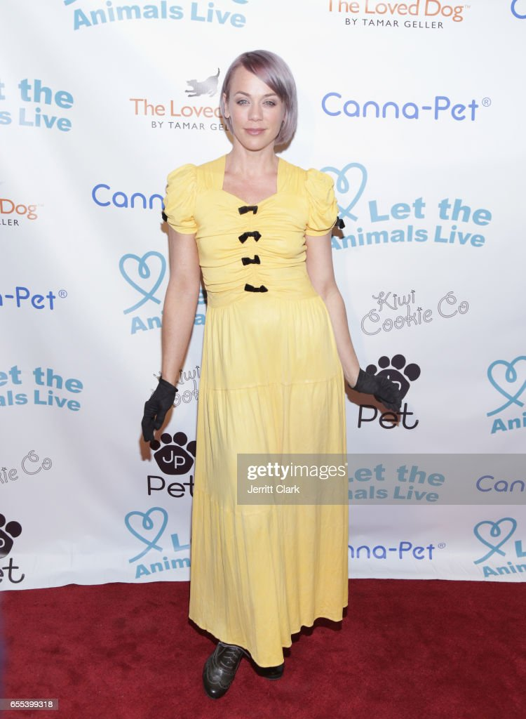 Tonya Kay attends the Let The Animals Live Gala at The Olympic Collection Banquet & Conference Center on March 19, 2017 in Los Angeles, California.