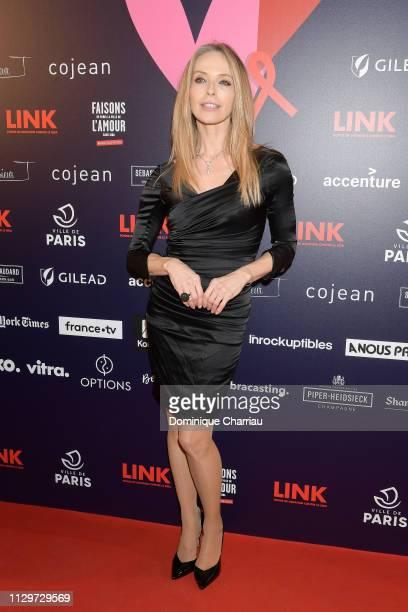Tonya Kinzinger attends 'Par Amour' Charity Gala at Mairie de Paris on February 14 2019 in Paris France