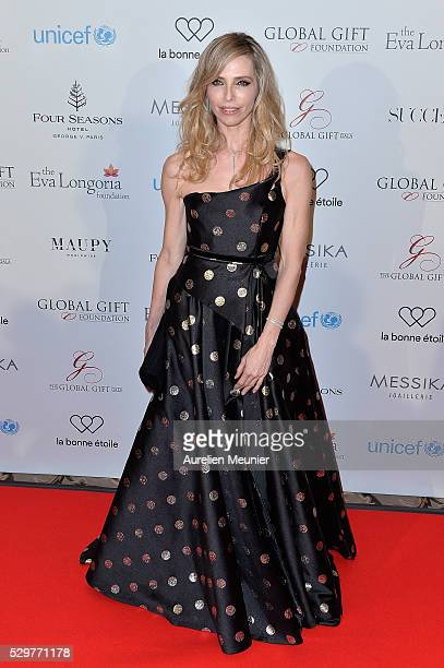 Tonya Kinzinger attends the Global Gift Gala photocall at Four Seasons Hotel George V on May 9 2016 in Paris France