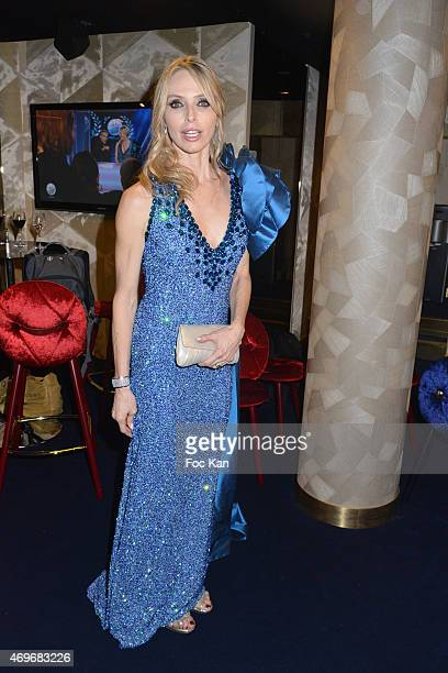 Tonya Kinzinger attends the 'Globes De Cristal' 2015 Award Ceremony At The Lido on April 13 2015 in Paris France