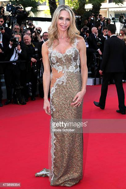 Tonya Kinzinger attends the Premiere of 'Inside Out' during the 68th annual Cannes Film Festival on May 18 2015 in Cannes France