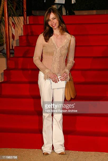 Tonya Kinzinger during 2003 Saint Tropez Television Festival Opening Night at Place des Lices in Saint Tropez France