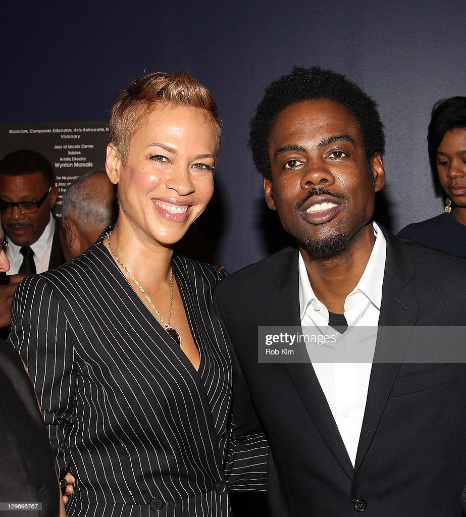 Tonya Lee and Chris Rock attend the 2nd Annual Triumph Awards at the Rose Theater, Jazz at Lincoln Center on October 19, 2011 in New York City.