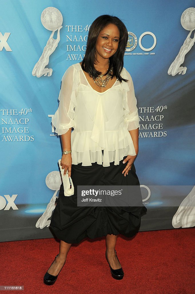 Tonya Lee Williams arrives at the 40th NAACP Image Awards held at the Shrine Auditorium on February 12, 2009 in Los Angeles, California.