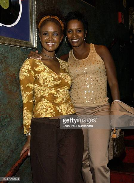 Tonya Lee Williams Vanessa Bell Calloway during VH1's Pilot 'The Hill Harper Show' Screening Party at BB Kings Blues Club in Universal City...