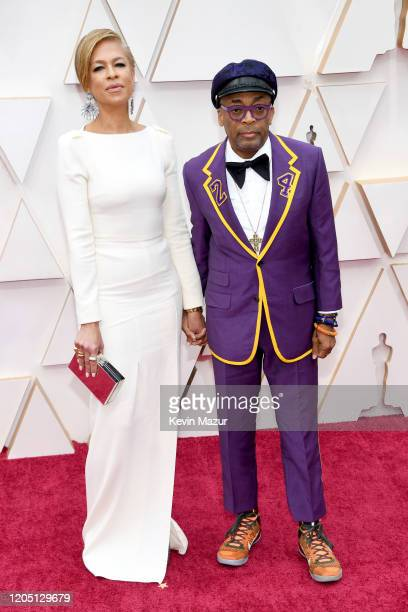 Tonya Lewis Lee and director Spike Lee attend the 92nd Annual Academy Awards at Hollywood and Highland on February 09, 2020 in Hollywood, California.