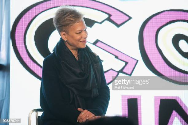 Tonya Lewis Lee speaks during the 'She's Gotta Have It' brunch sponsored by Netflix at Buona Vita on January 22 2018 in Park City Utah