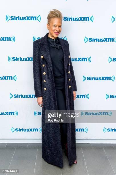Tonya Lewis Lee visits SiriusXM at SiriusXM Studios on November 13 2017 in New York City