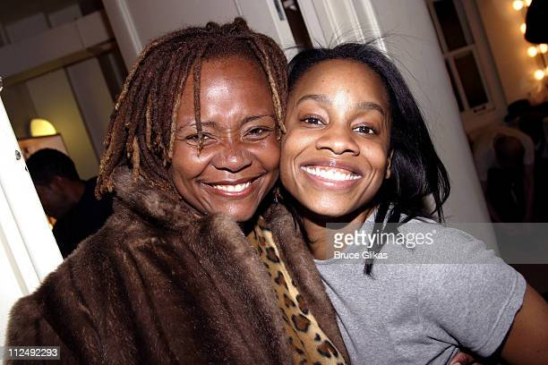 Tonya Pinkins and Anika Noni Rose who starred together in Caroline or Change