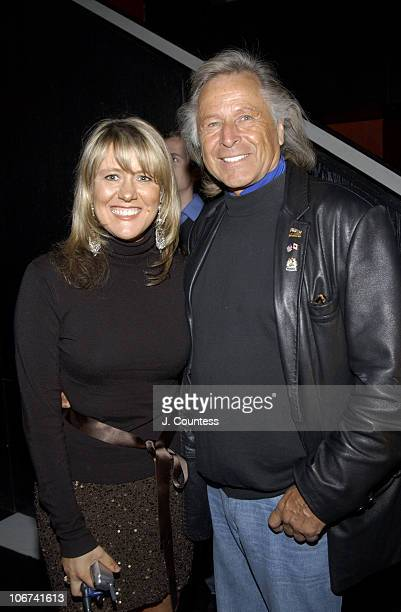 Tonya Volesic and Peter Nygard during Peter Nygard and Gotham Magazine Celebrate the Launch of The Nygard Fashion Network in New York City New York...