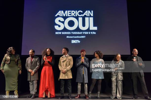 TonyKelly Price Jason Dirden Iantha Richardson Christopher Jefferson Jelani Winston Katlyn Nichol Perri Camper and Emil Wilbekin attend the BET...