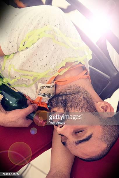 Zu betrunken zu zeigen