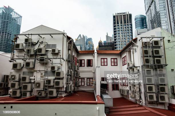 Too many air conditioners in Singapore city