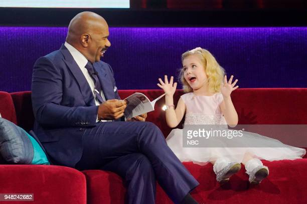 SHOTS 'Too Many Chefs' Episode 304 Pictured Steve Harvey Ariana Jalia