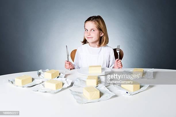 Zu viel Butter
