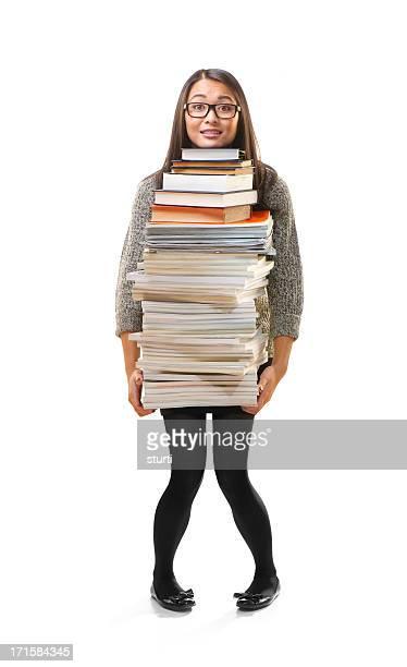 troppa conoscenza - oggetti pesanti foto e immagini stock