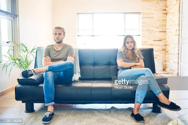 too much pride to apologise - couple breaking up stock pictures, royalty-free photos & images