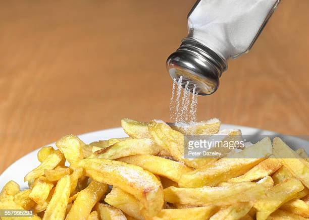 Too much salt on chips