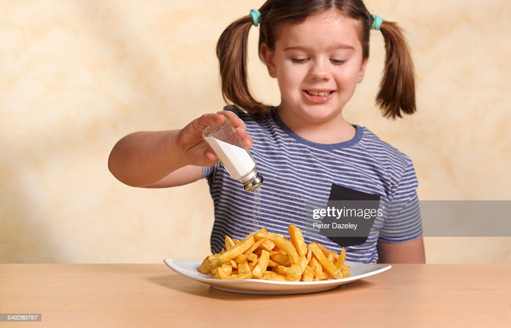Too much salt : Stock Photo