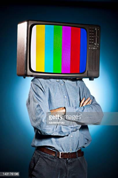 多すぎるテレビが殺さ - insight tv ストックフォトと画像