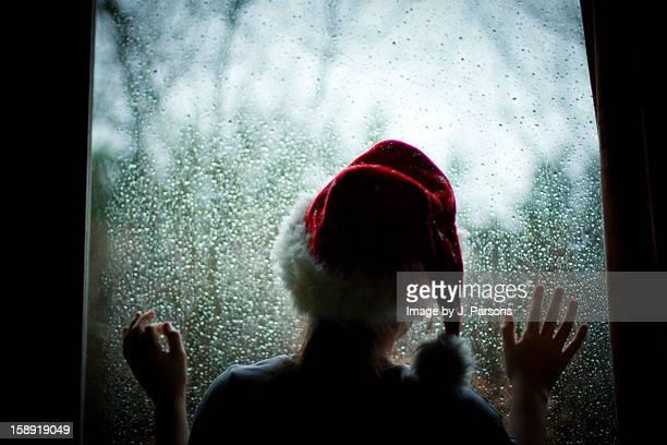 Too rainy for Santa