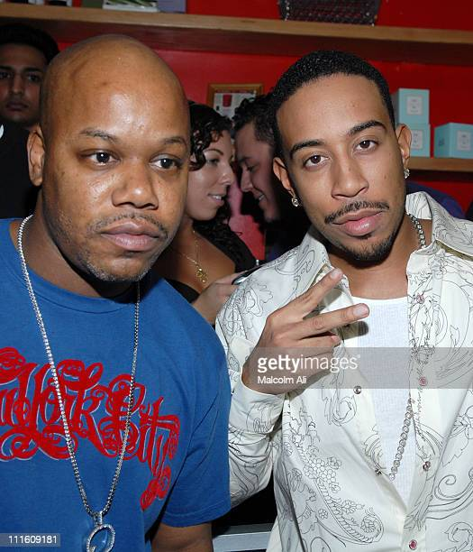 Too Short and Ludacris during Ludacris 'Release Therapy' Album Release Party at The Red Lemon Tree Store September 27 2006 at The Red Lemon Tree...