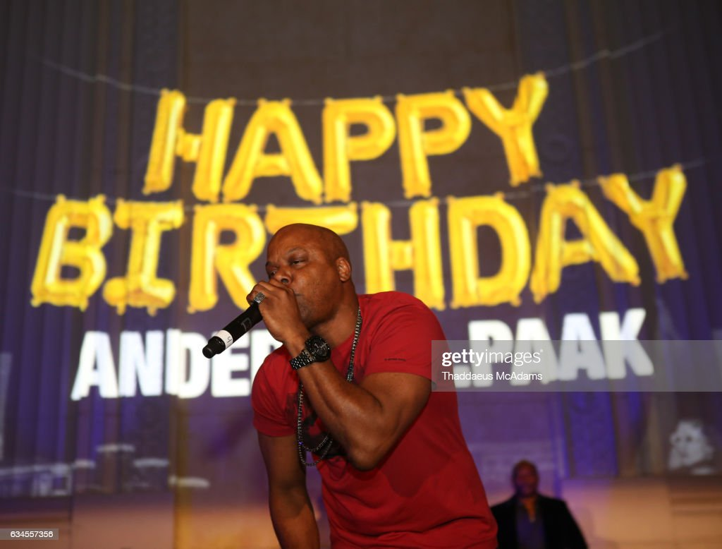 Too Short Performsat Anderson Paak birthday party at The MacArthur on February 9, 2017 in Los Angeles, California.