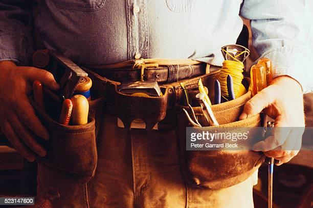 Tool Belt Around Waist