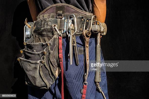 Tool belt of  Construction craftsman