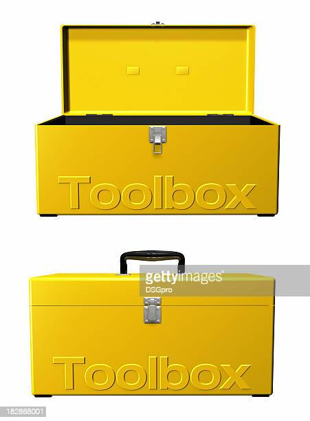 toolbox open and close - toolbox stock pictures, royalty-free photos & images