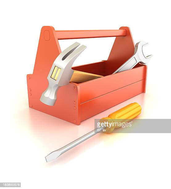toolbox - building icon stock photos and pictures
