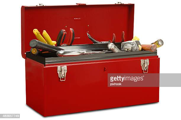 toolbox with tools - toolbox stock photos and pictures