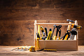 Toolbox With Various Worktools