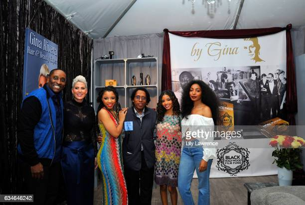 Tools by Gina founder Gina Rivera, recording artist Chloe Bailey, Halle Bailey and Diana Gordon attend GRAMMY Gift Lounge during the 59th GRAMMY...