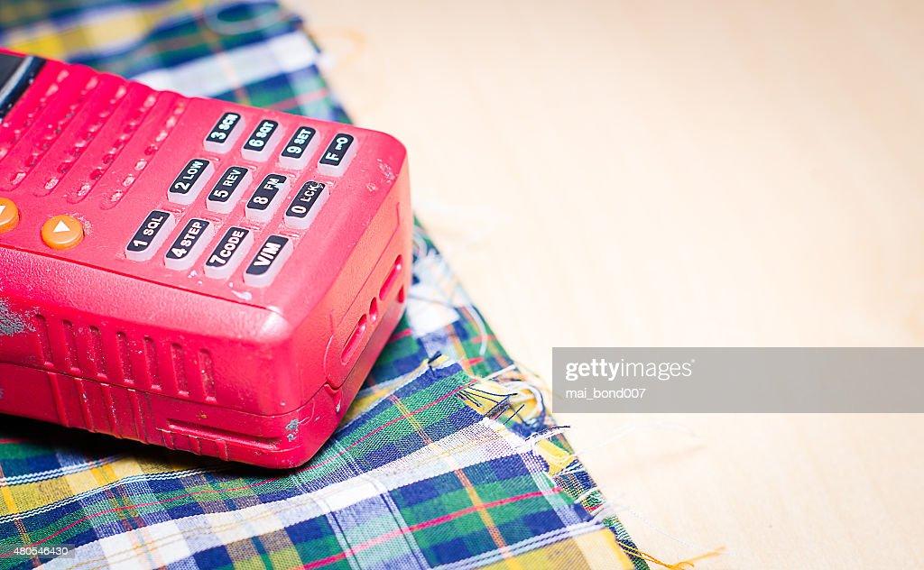Herramientas es de comunicación : Foto de stock