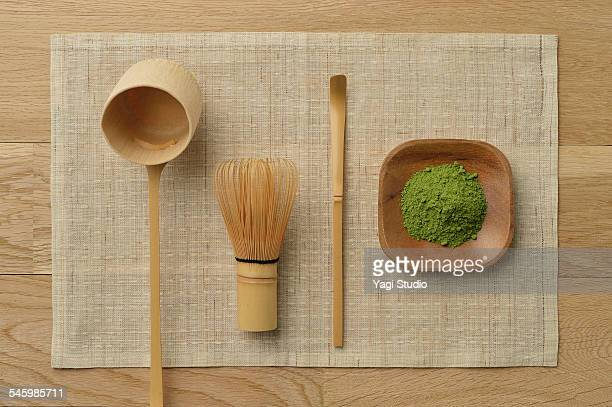 tools used for a japanese tea ceremony. - ceremony stock pictures, royalty-free photos & images