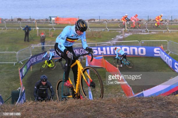 Toon Aerts of Belgium and Team Belgium / during the 70th Cyclo-cross World Championships Bogense 2019 - Training / Cross Denmark / @Bogense2019 / on...