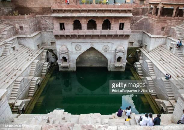 Toorji ka Jhalra stepwell, Rajasthan, Jodhpur, India on July 19, 2019 in Jodhpur, India.