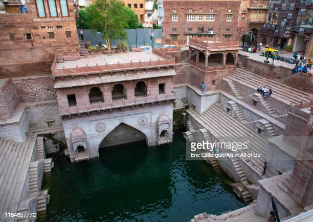 Toorji ka Jhalra stepwell, Rajasthan, Jodhpur, India on July 20, 2019 in Jodhpur, India.